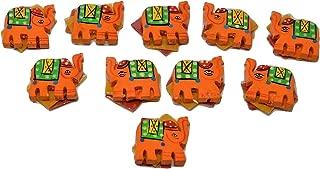 Desi Favors Set of 10 Elephant Haldi Kumkum Packets
