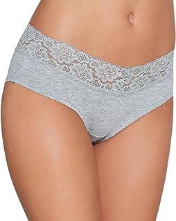 Eve Plus Size V-lace Hipster Panty St Women/'s