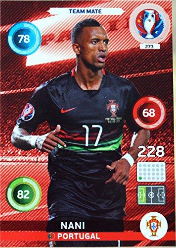carte PANINI EURO 2016 #273 Nani