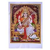 Bild Sarasvati Saraswati 50 x 70 cm Gottheit Hinduismus
