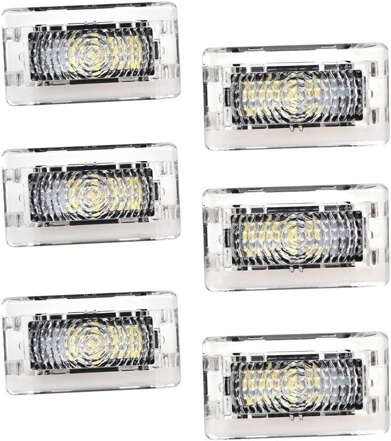 6 Packs Ranking TOP10 Ultra-bright Interior LED Lights Super sale Frunk L Trunk Bulbs Kit