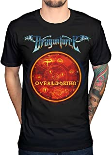 AWDIP Men's Official Dragon Force Overload T-Shirt Video Game Comuter