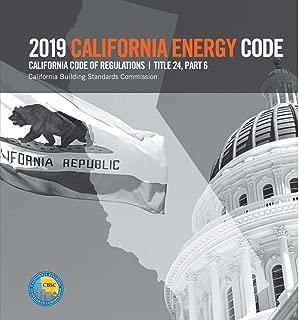 2019 California Energy Code, Title 24, Part 6