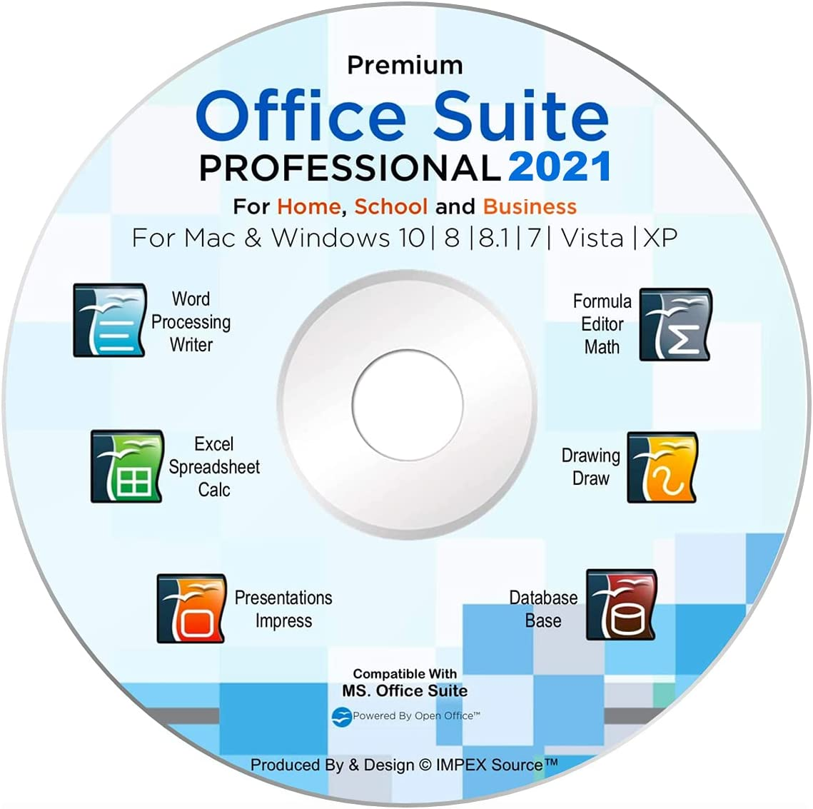 Atlanta Mall Office Suite 2021 Popular standard Professional Edition DVD wi CD compatible 100%