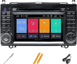 HAZYJT Compatible avec Mercedes-Benz Sprinter W906 B200 A Classe B W169 W245 Viano Vitow639 4 Go 2 Din Autoradio GPS Stéré...
