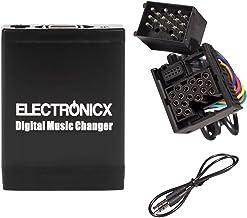 Electronicx Elec-M06-BM1 Adaptador de Musica para Coche USB, SD, AUX para BMW, Land Rover, Mini Rundpin, Cambiador de CD