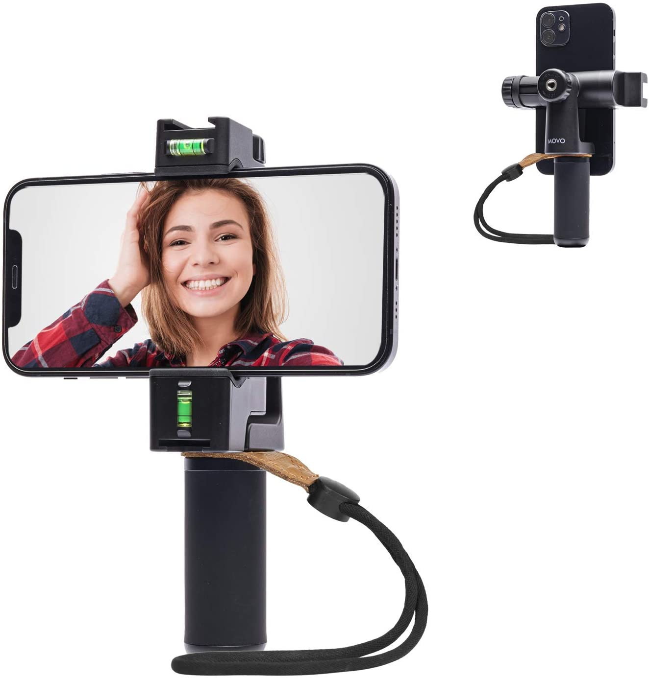 Movo PR-3 Rotating Smartphone Grip Special price for a limited time with Vertical and Rig Handle Sale item