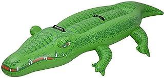 Jilong Crocodile Rider 2 - Cocodrilo acuático con asideros, 220 x 110 cm