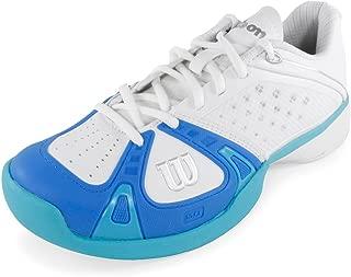 Rush Pro Women's Tennis Shoes White/Pool/Oceanna