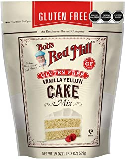 Bobs Red Mill Cake Flour, Vanilla, 19 oz