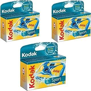 3 Kodak تستخدم تحت الماء مرة واحدة كاميرا رياضية مضادة للماء مؤرخة 2015