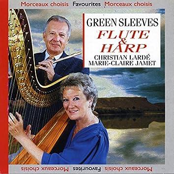 Green Sleeves : Flûte & Harpe