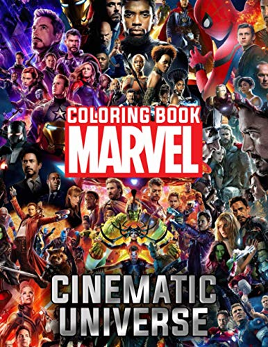 Marvel Cinematic Universe Coloring Book: Wonderful Gifts For Fans To Relax And Have Fun. Offering Many Illustrations Of The Falcon And The Winter Soldier