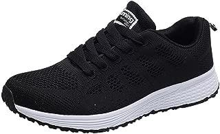 Qootent Women Air Mesh Running Shoes, Lightweight Sport Athletic Sneakers Flats