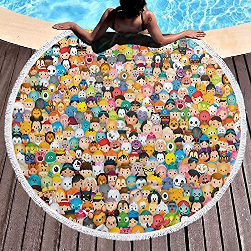 Cute Pillow Toy Story - Tapiz grande de algodón con diseño de mandala, decoración de Yaga