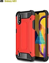 For Samsung Galaxy M01 Magic Armor TPU + PC Combination Case Waterproof (Color : Red)