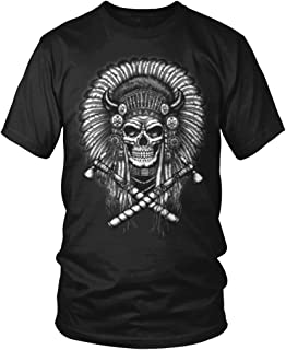 skull headdress shirt