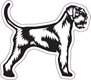WickedGoodz Schnauzer Decal - Dog Mom Bumper Sticker - Perfect Schnauzer Mom Dad Gift