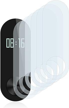 Savvies Protector de Pantalla para Xiaomi Mi Band 2 [6 Unidades] - Transparente