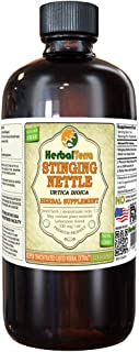 Stinging Nettle (Urtica Dioica) Tincture, Organic Dried Roots Liquid Extract (Brand Name: HerbalTerra, Proudly Made in USA) 32 fl.oz (0.95 l)
