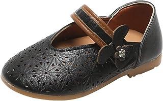 Fossen Zapatos de Princesas para Niña Recortables Niños Sandalias - Sandalias Niñas Verano Playa Casual