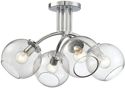 high quality George Kovacs P1845-077 Four lowest Light Semi sale Flush Mount online