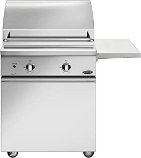 Dcs Professional 30-inch Freestanding Natural Gas Grill On Dcs Css Cart - Bgc30-bq-n