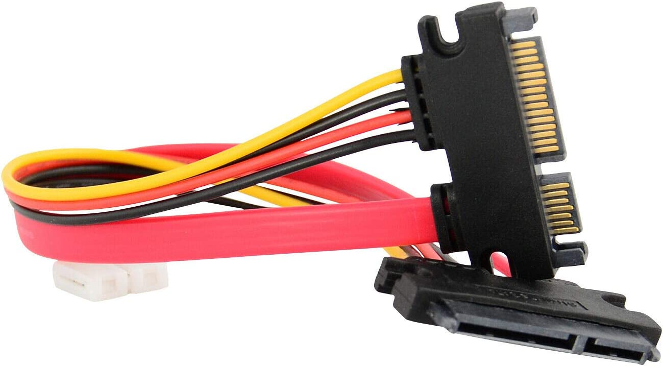 TJP Max 75% OFF 15+7 Pin SATA HDD Extension Data Femal Power to Our shop most popular Cable Male