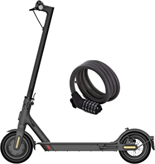 Xiaomi Mi Electric Scooter Électrique Indispensable, Version Amazone avec Cadenas Inclus, Autonomie de 20 km, Vitesse Jusq...