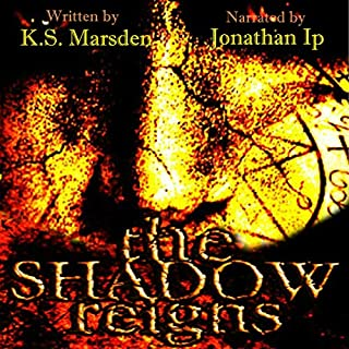 The Shadow Reigns audiobook cover art