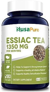 Essiac Tea 1350 mg 180 Veggie Caps (Vegetarian, Non-GMO & Gluten-Free) Supports a Healthy Immune System*