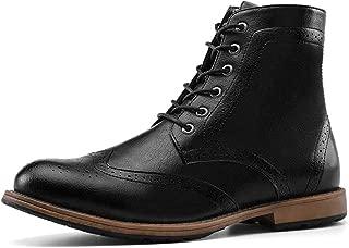 Men's Dress Boots Wingtip Oxford Boots