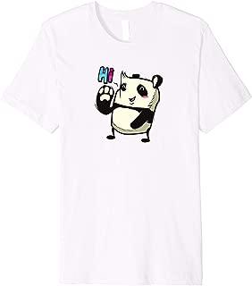 Cute Panda Saying Hi