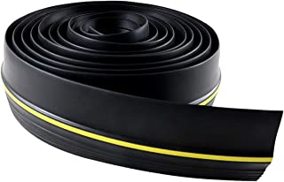 WHDZ Universal Garage Door Bottom Threshold Seal Strip, Rubber Weatherproof DIY Stripping Seal Strip Not Include Sealant A...