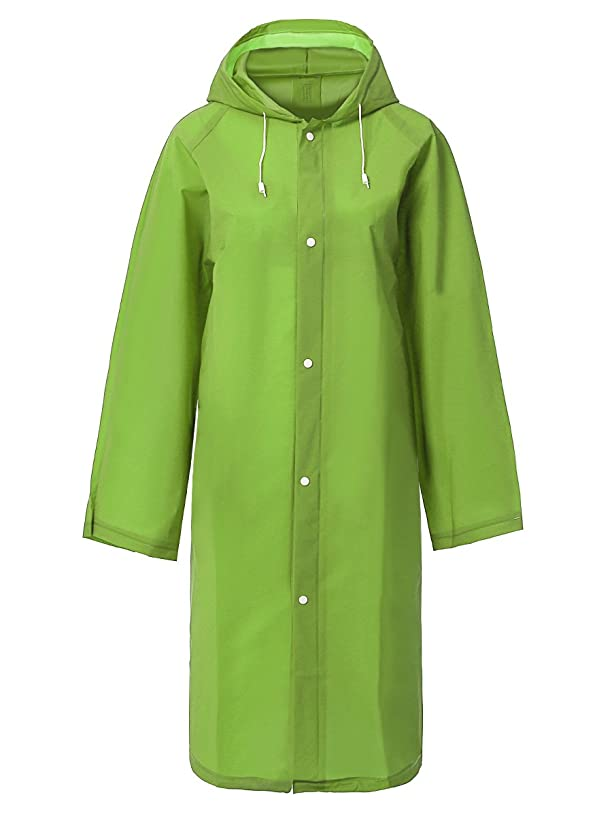 SaphiRose Emergency Disposable Rain Poncho for Adults