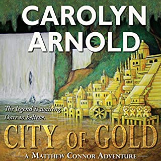 City of Gold audiobook cover art