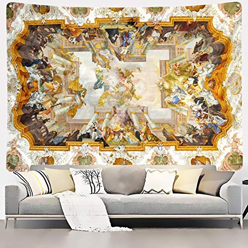 KHKJ Tapiz de ángel Mandala Colgante de Pared decoración del hogar Manta de Pared Sala de Estar Dormitorio TV Fondo BohemianAngel Wings A5 95x73cm