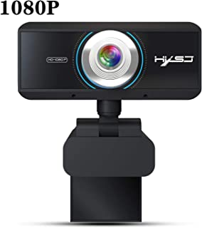 Autolock Webcam with Microphone, 1080P HD Webcam Streaming Computer Web Camera -USB Computer Camera for PC Laptop Desktop Video Calling,Conferencing,180 Grad nach Oben und unten verstellbar