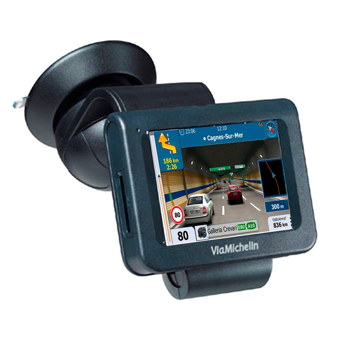 Navegador GPS con Avisador de Radares Actualizable Chip Sirf III ...