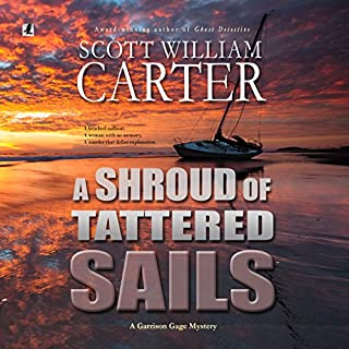 A Shroud of Tattered Sails audiobook cover art