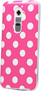 iCues Nokia Lumia 930 Polka Dot Case Pink   [Screen Protector Included] Durable Fashion Shell Cute Glossy Cover TPU Patter...