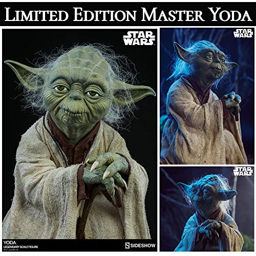 Yoda Master Yoda Star Wars Limited Edition Large Size Action Doll Action Figure Star WarsⅡ: The Empire Strikes Back 40th Anniversary Edition(Spot) 45.7cm