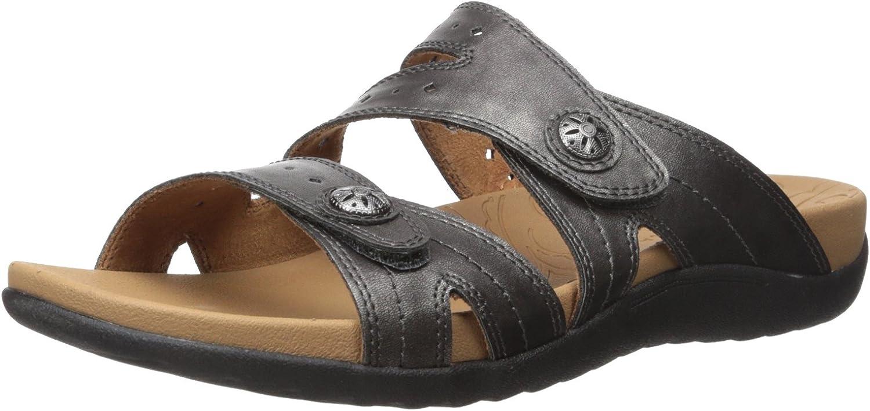 Rockport Womens Ridge Button Slide Sandal