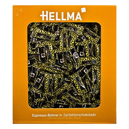 Hellma schokolierte Espressobohnen 380 x 1,1g Zartbitter