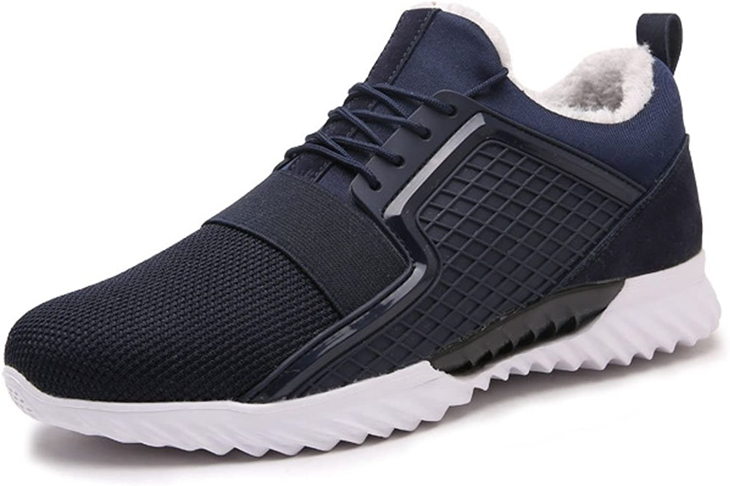 TYPOST Men's Winter Warm Sneakers Fashion Casual Non Slip Running Sports shoes