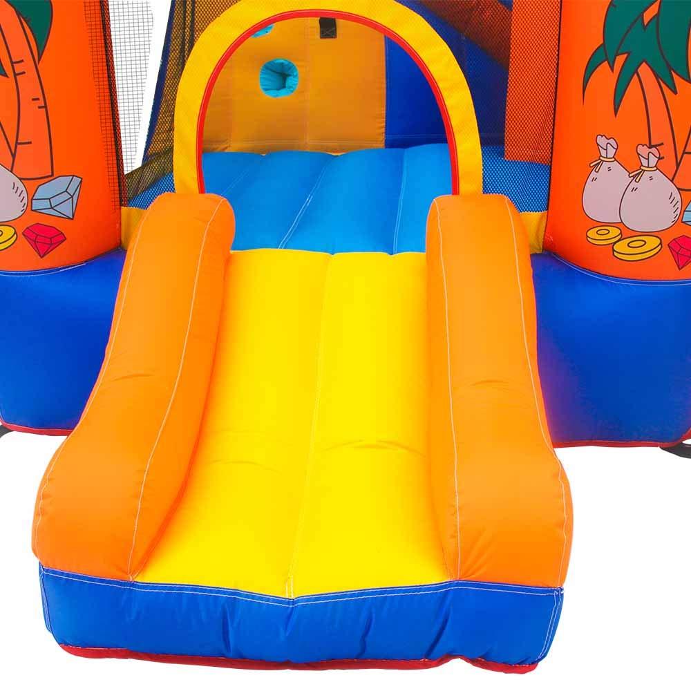 Doctor Dolphin - Parque acuático inflable para niños con tobogán ...