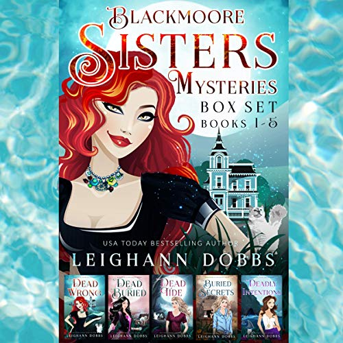 Blackmoore Sisters Cozy Mysteries Box-Set Books 1-5 cover art