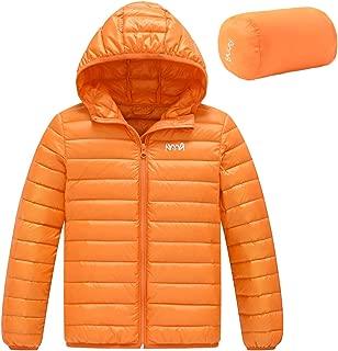 AYMA Ultra Light Boy's Lightweight Packable Short Down Jacket