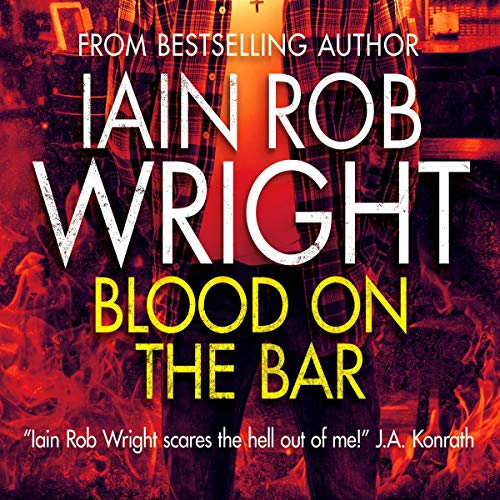 Blood on the Bar cover art