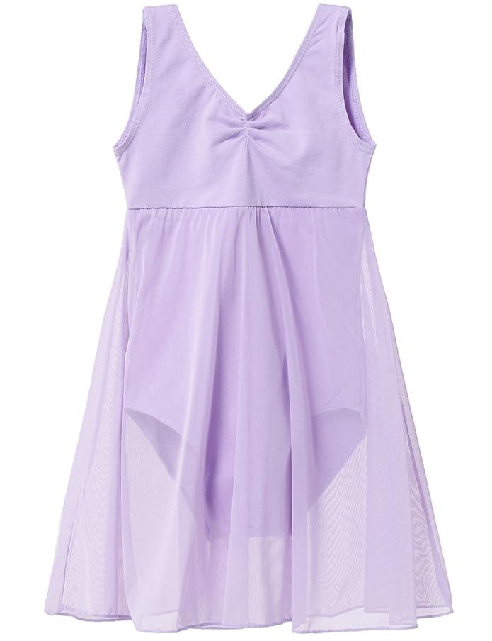 MdnMd Girls' Empire Tank Leotard Dress
